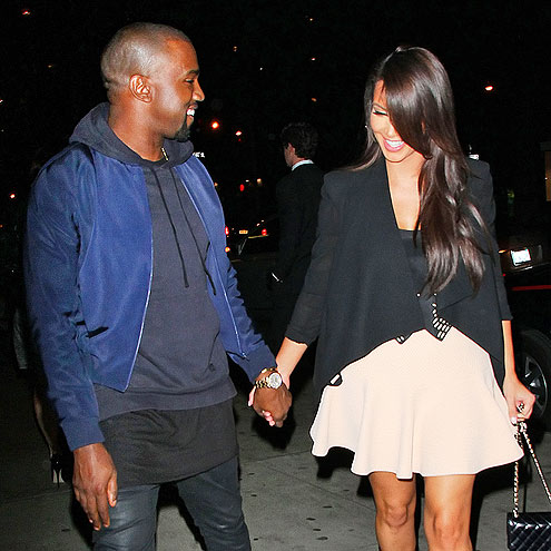 FUNNY BUSINESS photo | Kanye West, Kim Kardashian