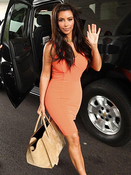 HI STEP  photo | Kim Kardashian