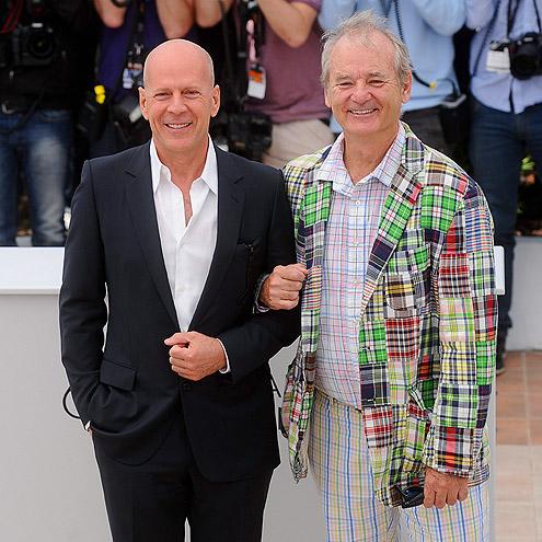 ODD COUPLE  photo | Bill Murray, Bruce Willis