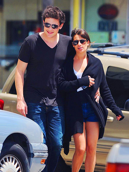 BACK IN BLACK  photo | Cory Monteith, Lea Michele