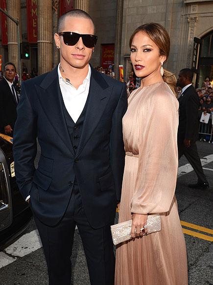 LINKED IN  photo | Casper Smart, Jennifer Lopez