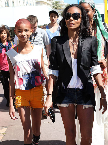 YES THEY 'CANNES'  photo | Willow Smith
