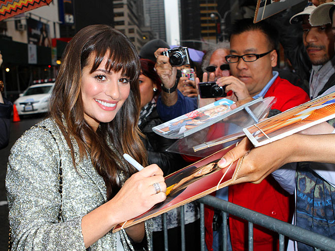 SIGNING OFF photo | Lea Michele