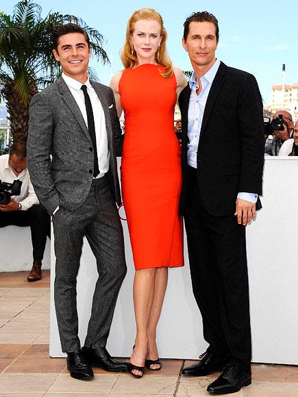 'PAPER' MATES  photo   Matthew McConaughey, Nicole Kidman, Zac Efron