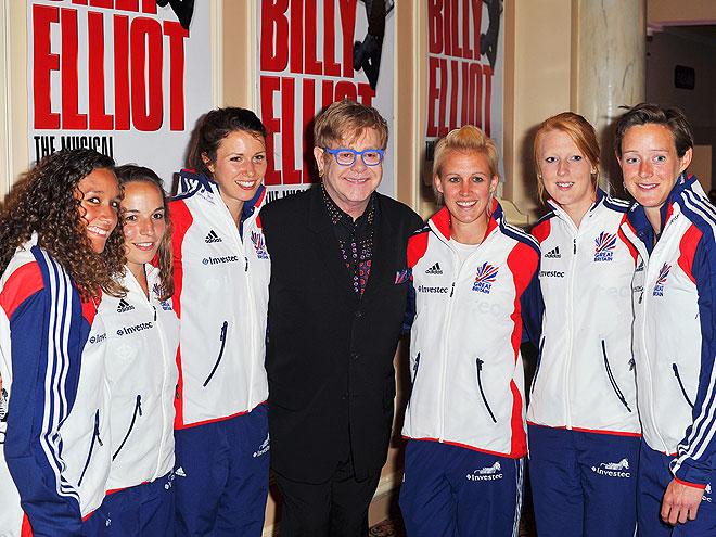 PUCK OF THE BRITISH  photo | Elton John