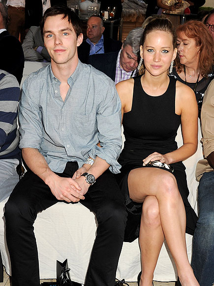 FRONT-ROW FLIRTS photo | Jennifer Lawrence