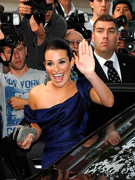 BLUE BELLE  photo | Lea Michele