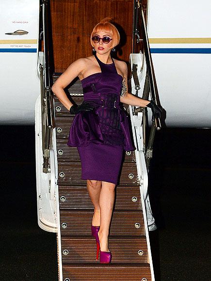 PLANE CLOTHED  photo | Lady Gaga