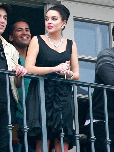 BALCONY SCENE  photo | Lindsay Lohan