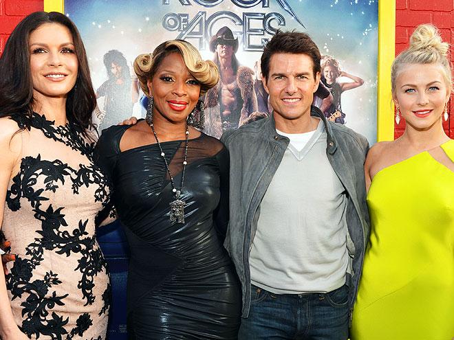 READY TO ROCK  photo | Catherine Zeta-Jones, Julianne Hough, Mary J. Blige, Tom Cruise