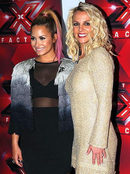 X-TRA CUTE  photo | Britney Spears, Demi Lovato