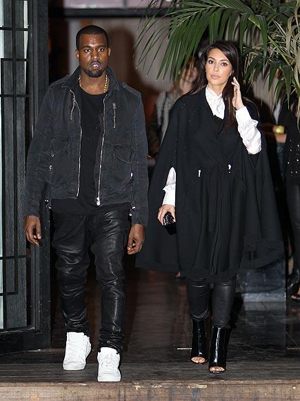 PARISIAN PAIR  photo | Kanye West, Kim Kardashian