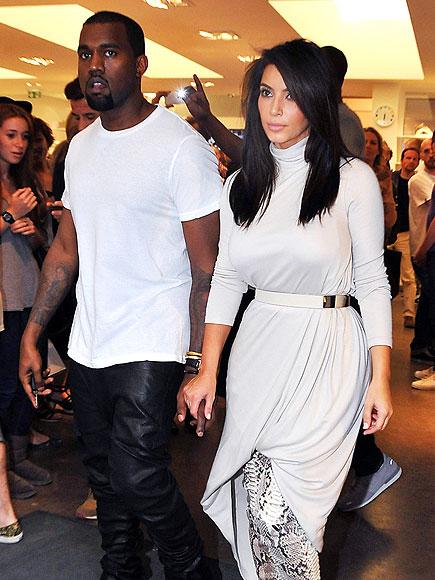 GREAT WHITE WAY  photo | Kanye West, Kim Kardashian