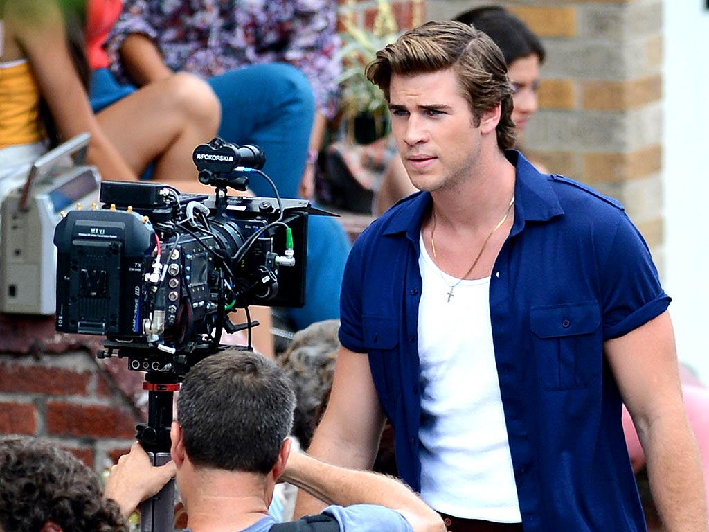 READY FOR HIS CLOSE-UP