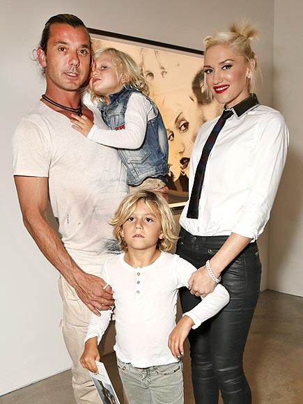 FAMILY PORTRAIT photo | Gavin Rossdale, Gwen Stefani
