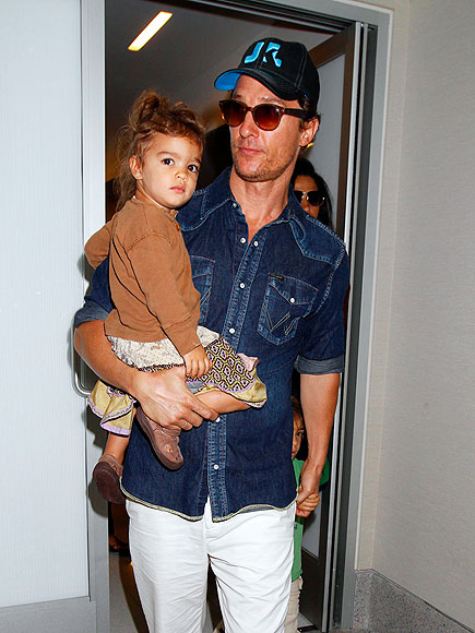 Matthew McConaughey and daughterMatthew Mcconaughey Daughter