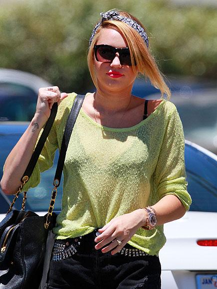 BRIGHT SPOT  photo   Miley Cyrus