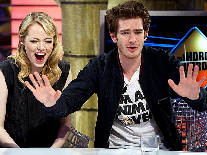 FUNNY BUSINESS photo | Andrew Garfield, Emma Stone