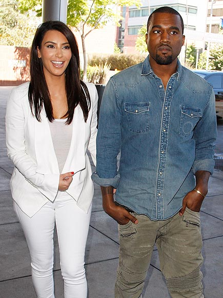 SWEET CHARITY photo | Kanye West, Kim Kardashian