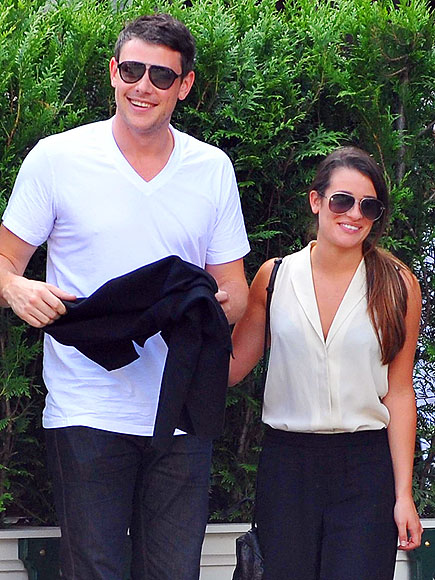 JOIE DE GLEE photo | Cory Monteith, Lea Michele