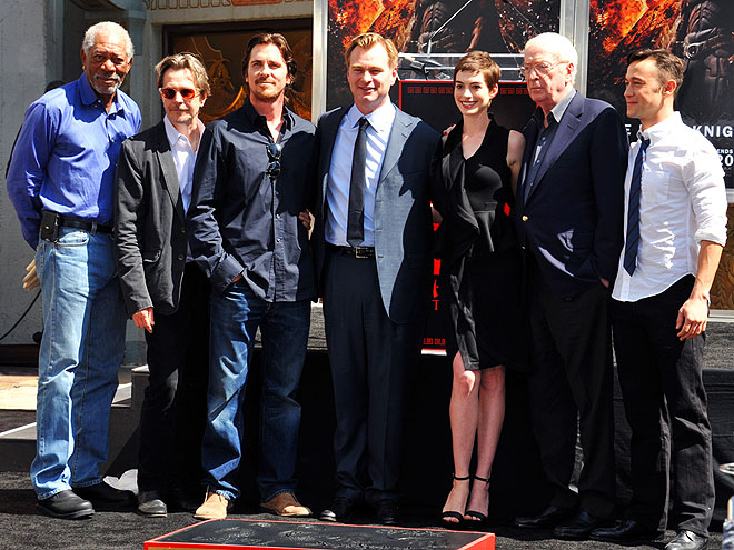 ON THE RISE photo | Anne Hathaway, Christian Bale, Christopher Nolan, Joseph Gordon-Levitt