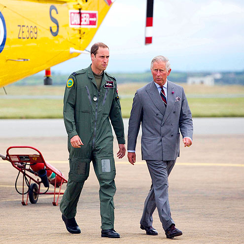 PLANE CLOTHED photo | Prince William