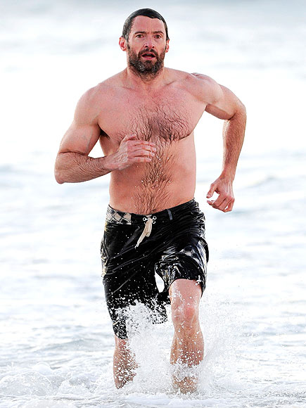 WET RUN photo | Hugh Jackman