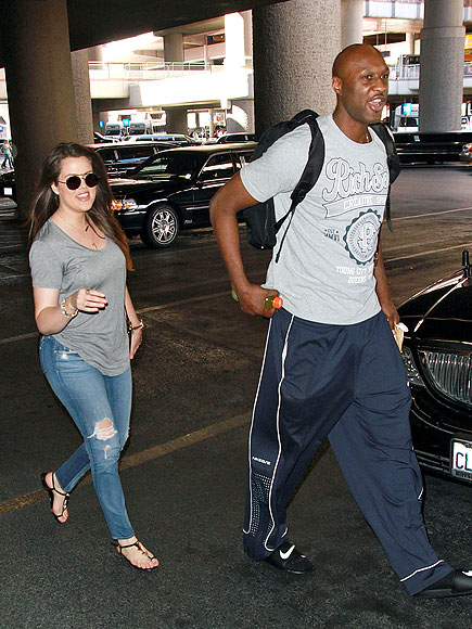FOLLOW THE LEADER photo | Khloe Kardashian, Lamar Odom