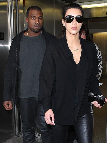 ALL BUSINESS? photo | Kanye West, Kim Kardashian