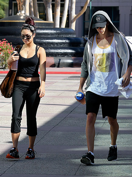 COUPLES TRAINING photo | Vanessa Hudgens