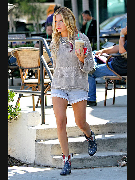 QUITE A HANDFUL photo | Ashley Tisdale