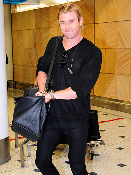 BACK IN BLACK photo | Chris Hemsworth