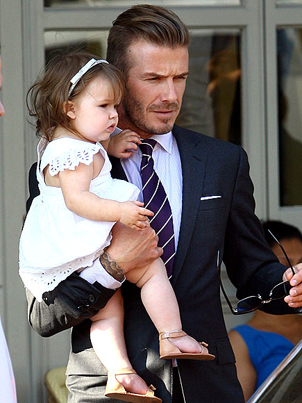 DADDY&#39;S GIRL photo | David Beckham