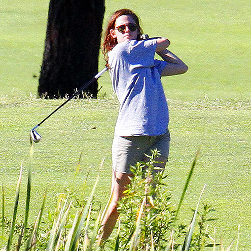 Hittin&#39; the Links photo | Kristen Stewart