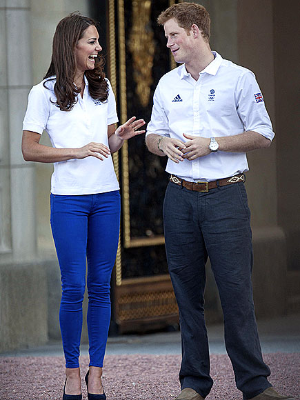 HAVING A LAUGH photo | Kate Middleton, Prince Harry