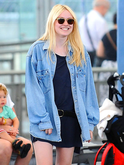 DENIM DAKOTA photo | Dakota Fanning