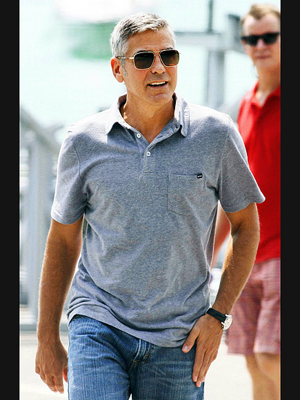 MAN ON THE MOVE photo | George Clooney