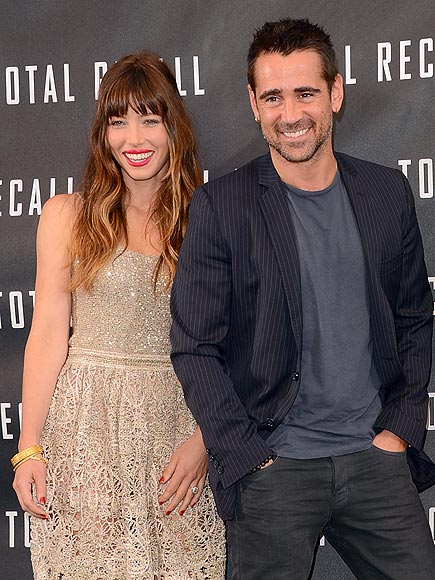 TOTAL PHOTO CALL photo | Colin Farrell, Jessica Biel