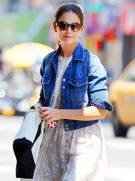DENIM DAY photo | Katie Holmes
