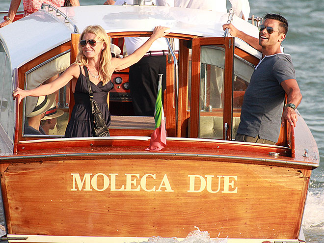 ANCHOR'S AWEIGH! photo | Kelly Ripa, Mark Consuelos