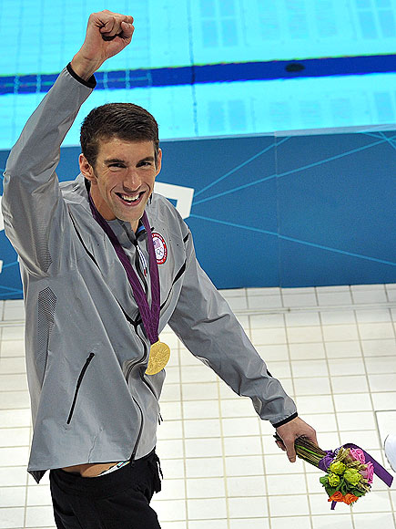 GOLDEN MOMENT photo | Michael Phelps