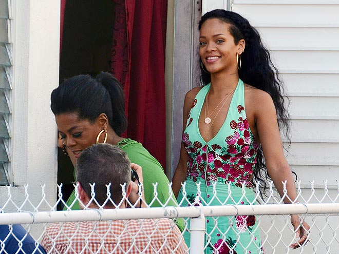 LET&#39;S GO...BARBADOS! photo | Oprah Winfrey, Rihanna