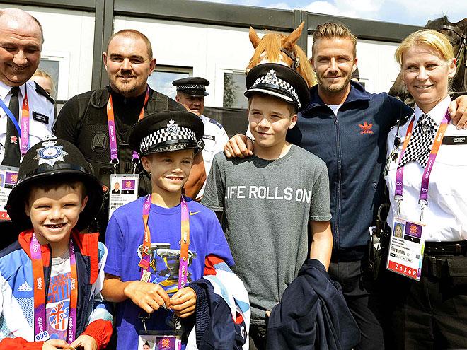 POLICE ACADEMY photo | David Beckham