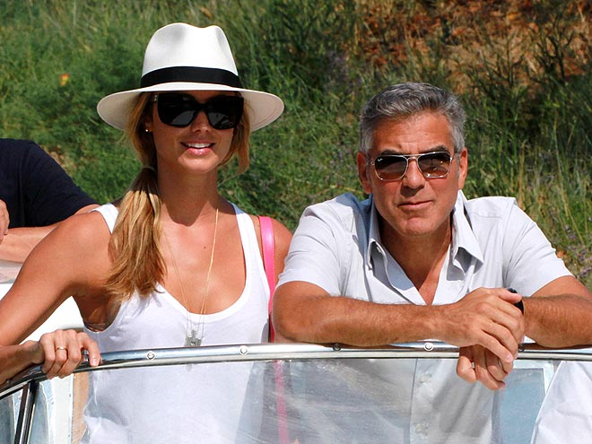 DOLCE DUO photo | George Clooney, Stacy Keibler