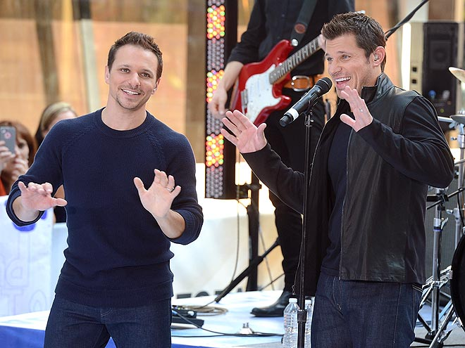 BOYS TO MEN photo | Drew Lachey, Nick Lachey