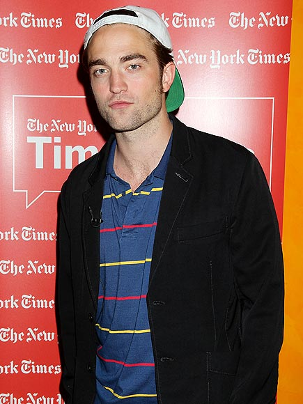 RIGHT ON 'TIMES' photo | Robert Pattinson