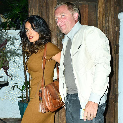 PLAYING DOUBLES photo | Henri Pinault, Salma Hayek