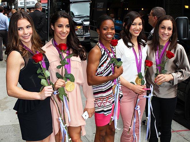 FIVE OF A KIND photo | Aly Raisman, Gabrielle Douglas, Jordyn Wieber, Kyla Ross, McKayla Maroney