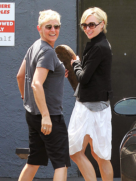 ABOUT FACE photo | Ellen DeGeneres, Portia de Rossi