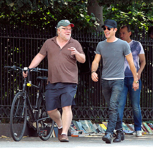 LAUGH TRACK photo | Justin Theroux, Philip Seymour Hoffman
